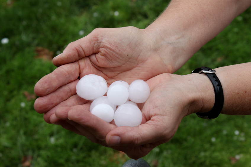 How Hail Affects Roofing Shingles