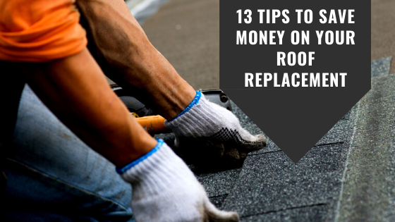 save money of roof replacement